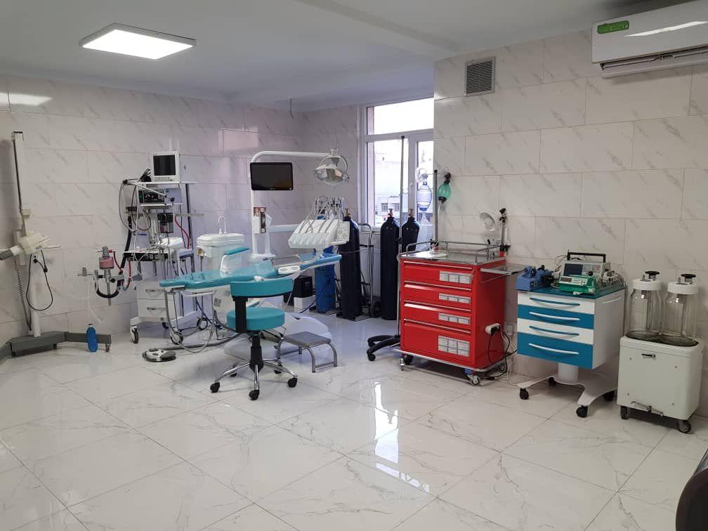 تهران: پیروزی، همکاری بخش بیهوشی دندانپزشکی
